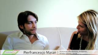 Intervista a Pierfrancesco Maran - Milano Park(ing)Day - Parte 1