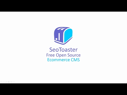 Open Source Shopping Cart SeoToaster