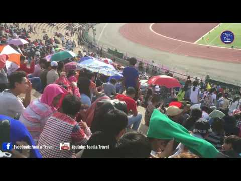 Opening Ceremony The First National Game at Olympic Stadium, Phnom Penh Cambodia (Part 1)