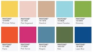pantone colors of the year 2017 color fashion trends 2017
