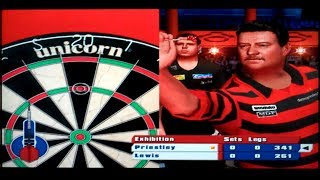 PDC World Championship Darts 2008 Playstation 2 Gameplay