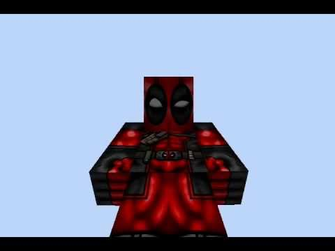 Deadpool Skin Revw YouTube - Deadpool skins fur minecraft