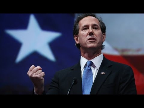 Rick Santorum says he