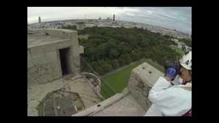 Flak Tower Geschützturm Augarten Teil 1