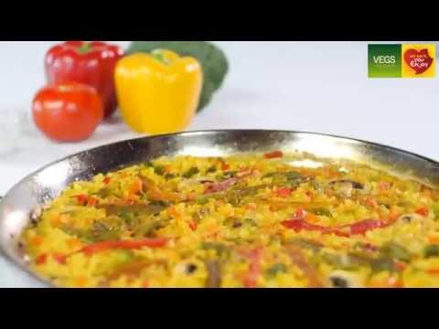 How to make Vegetable Paella
