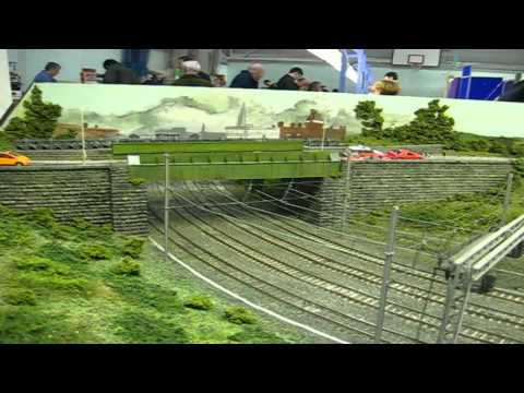 PRESTON MODEL RAILWAY EXHIBITION 3 RD AND 4 TH  MARCH 2012  PART 1.wmv