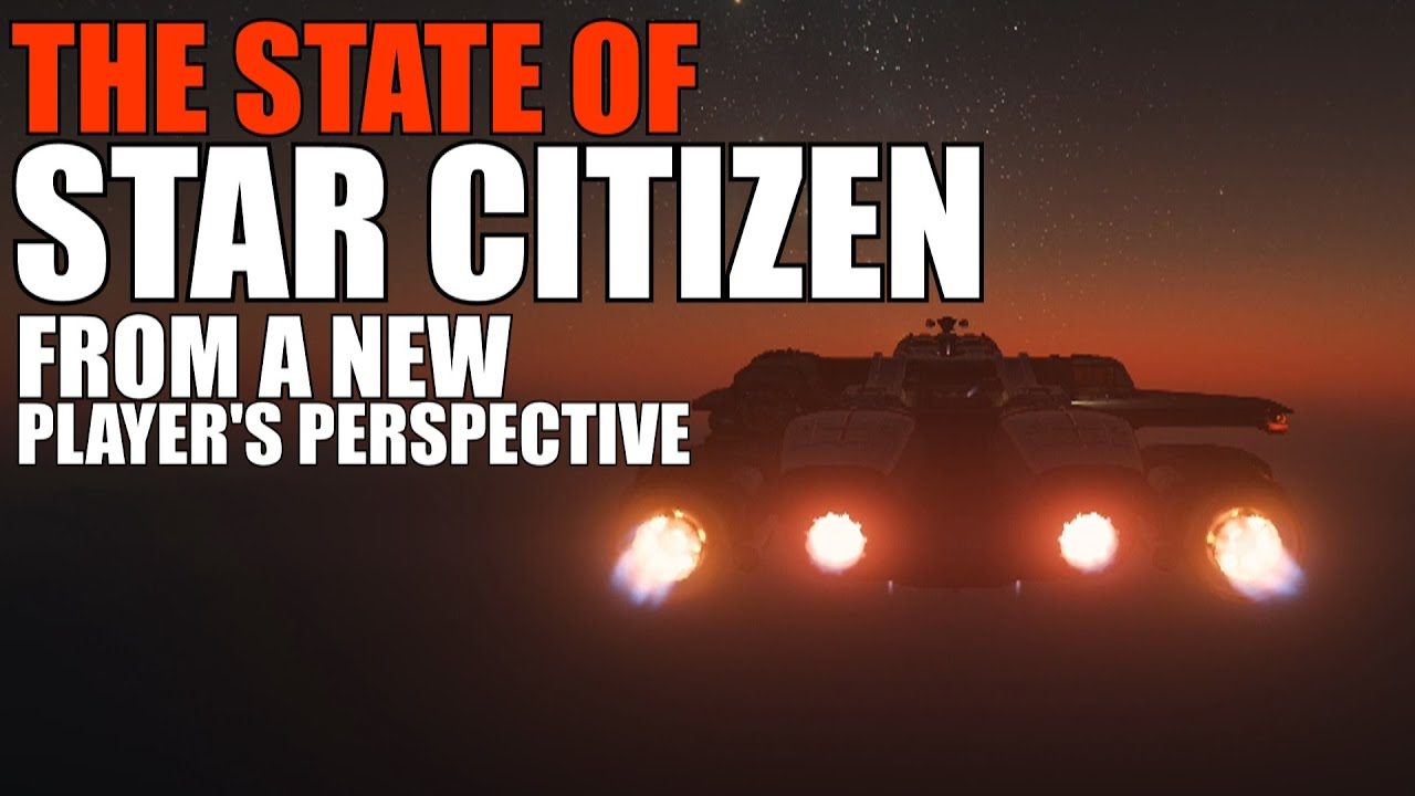 The state of Star Citizen from a new players perspective about the ongoing development, and updates.