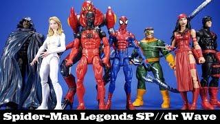 Marvel Legends Spider-Man SP//dr Series Review Hasbro