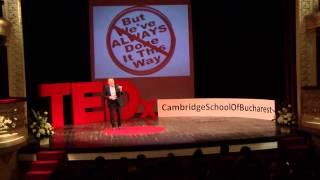 Enjoying the Absurd | Walid Abboud | TEDxCambridgeSchoolofBucharest