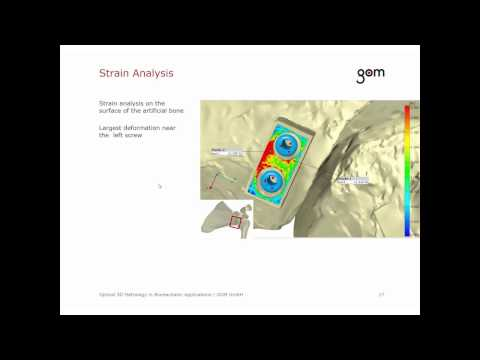 GOM Webinar - Optical 3D Metrology in Biomechanics Testing