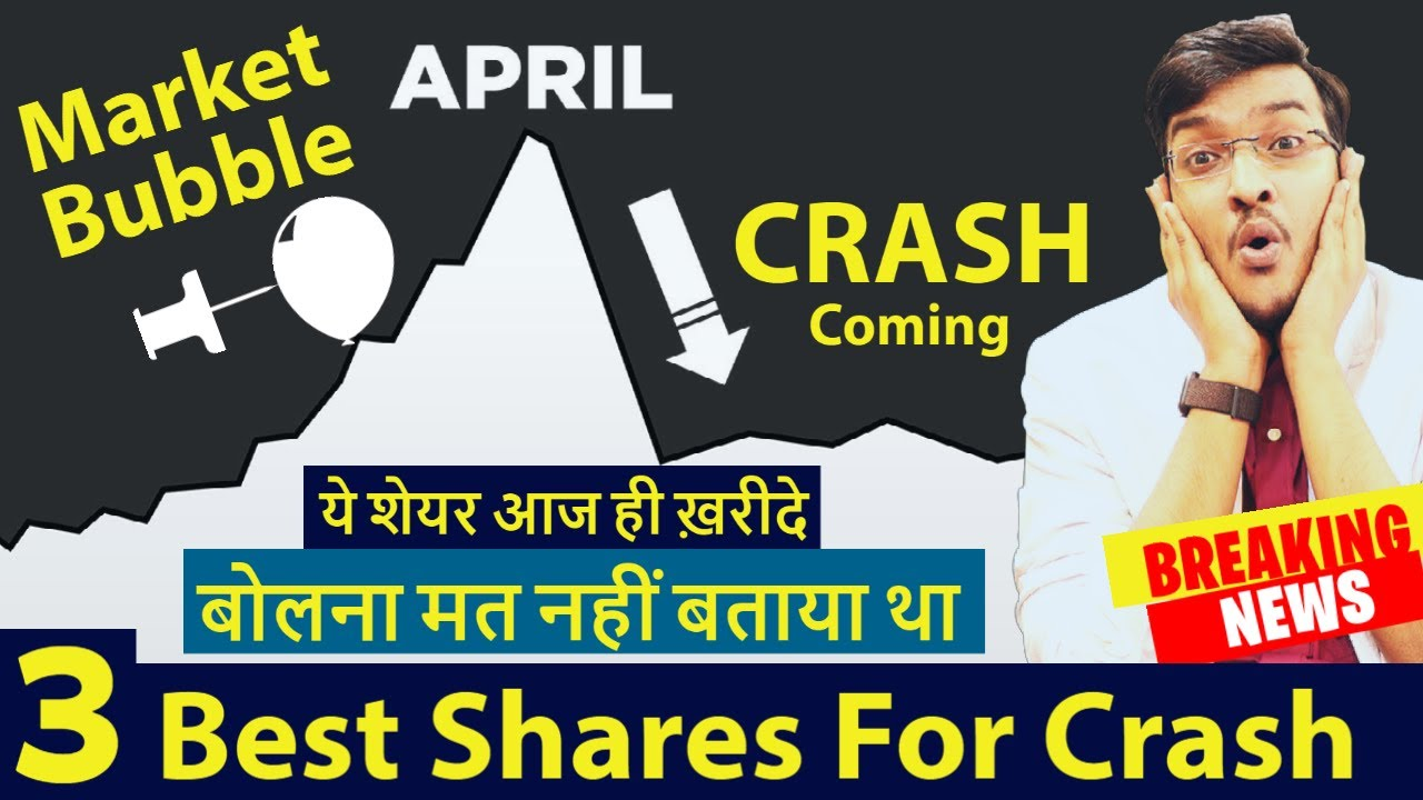 The Truth About Upcoming Share Market Crash 2021 | Best 3 Share For Crash | Market Maestroo