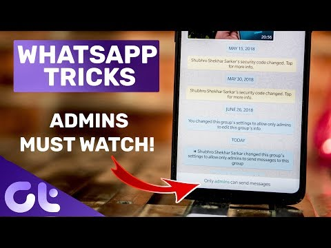 6 Cool New WhatsApp Tricks Every GROUP ADMIN MUST Know | Guiding Tech