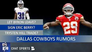 Cowboys Rumors: Eric Berry Signing? Let Byron Jones Walk? Trysten Hill trade? Maliek Collins Goner?
