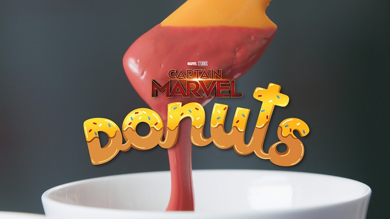 National Donut Day: Captain Marvel & Flerken Donuts!