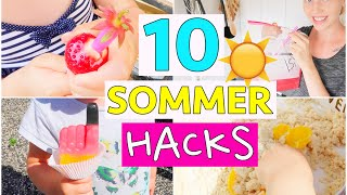 10 SUMMER LIFE HACKS | Limonade to Go | DIY Magic Sand | Isabeau