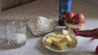 Рецепт сладкого рубленного теста для тартов и пирагов