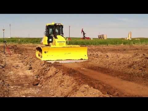 Komatsu D61PXi-23 Building Pad Sites In North Dakota