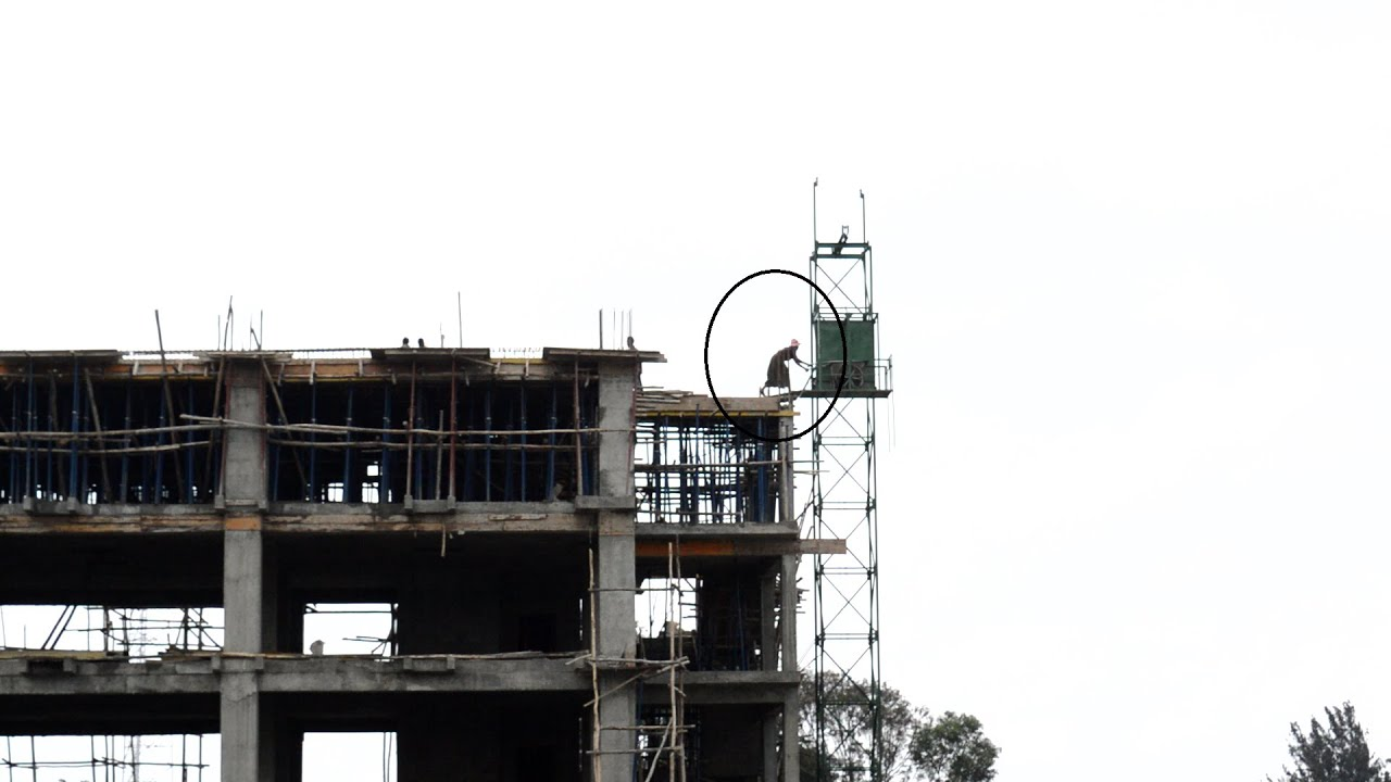 Safety in construction work Addis Ababa Ethiopia