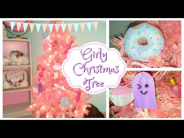 Pink Christmas Tree Diy Dollar Tree Ornaments