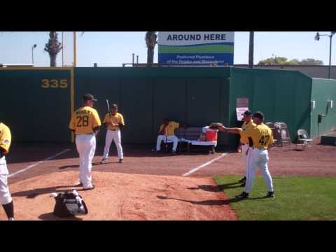 RumBunter.com:  Ray Searage prays to the baseball Gods.MP4