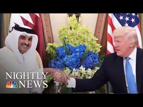 Pres. Donald Trump Appears To Approve Saudi-Led Diplomatic Blockade Of Qatar | NBC Nightly News
