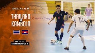 Thailand (12) vs (0) Kamboja - AFF Futsal Championship 2019