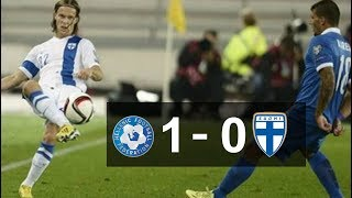 GREECE 1 -  0 FINLAND MATCH REVIEWS/ HIGHLIGHTS