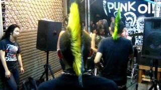 Punk gig at JJ market