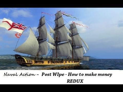 Naval Action - Post Wipe : How to Make Money - REDUX
