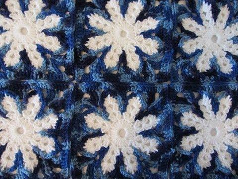Indie Lovely Star Flower Hexagon Crochet Pattern Youtube