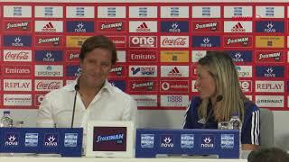 Συν. Τύπου κ. Μαρτίνς (Ολυμπιακός - Βόλος ΝΠΣ) / Press Conf. (Olympiacos - Volos FC)