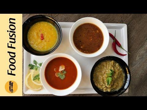 Chutney 4 Ways - Recipes By Food Fusion