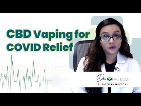 Can Vaping CBD Help With Inflammation From The Coronavirus (COVID-19)?