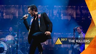 The Killers - When You Were Young (Glastonbury 2017)