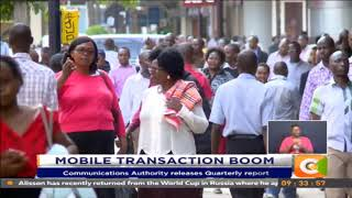 Kenyans transact Ksh1.8T in three months  #TheBigQuestion