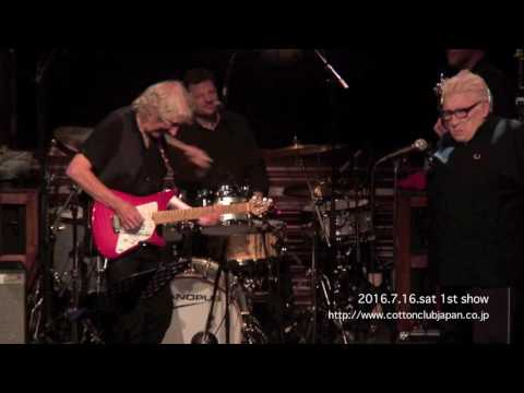 ALBERT LEE with special guest CHRIS FARLOWE : LIVE @ COTTON CLUB JAPAN  (July.16,2016)