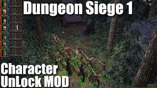 Dungeon Siege 1: Charakter UnLock Mod, mit 8 RPCs starten.