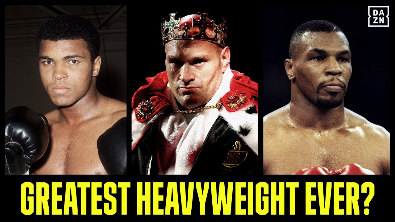 Greatest Heavyweight Ever? Tyson Fury Thinks It's Himself