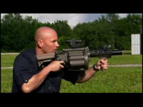 M32 MGL (full disassembly and operation) - YouTube