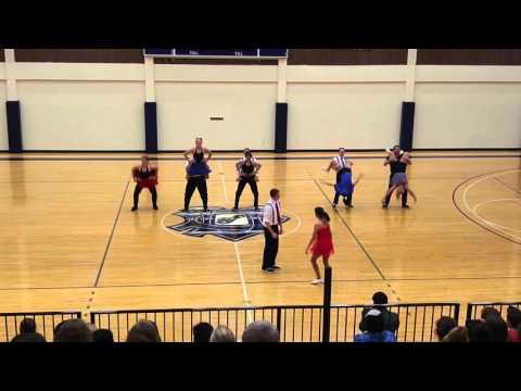 University of Dallas Swing Team Perfomance Spring 2016