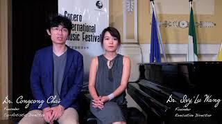 2019 Conero International Music Festival Interview-Dr. Congcong Chai & Dr. Ivy Lu Wang