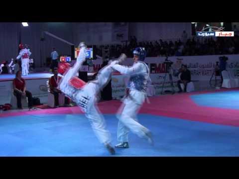 Belgium vs Morocco - 4th Fujairah Taekwondo 2016