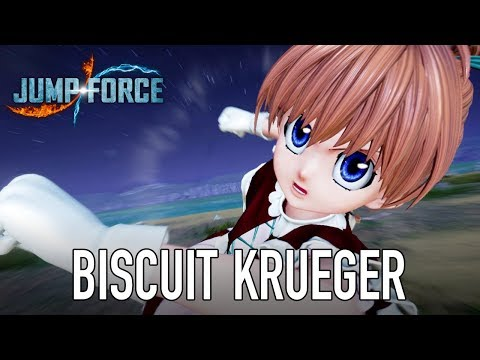 Jump Force - PS4/XB1/PC - Gameplay Biscuit Krueger