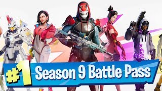 Fortnite Season 9 Battle Pass Reaction!