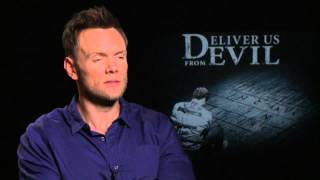 Deliever Us From Evil: Joel McHale Exclusive Interview