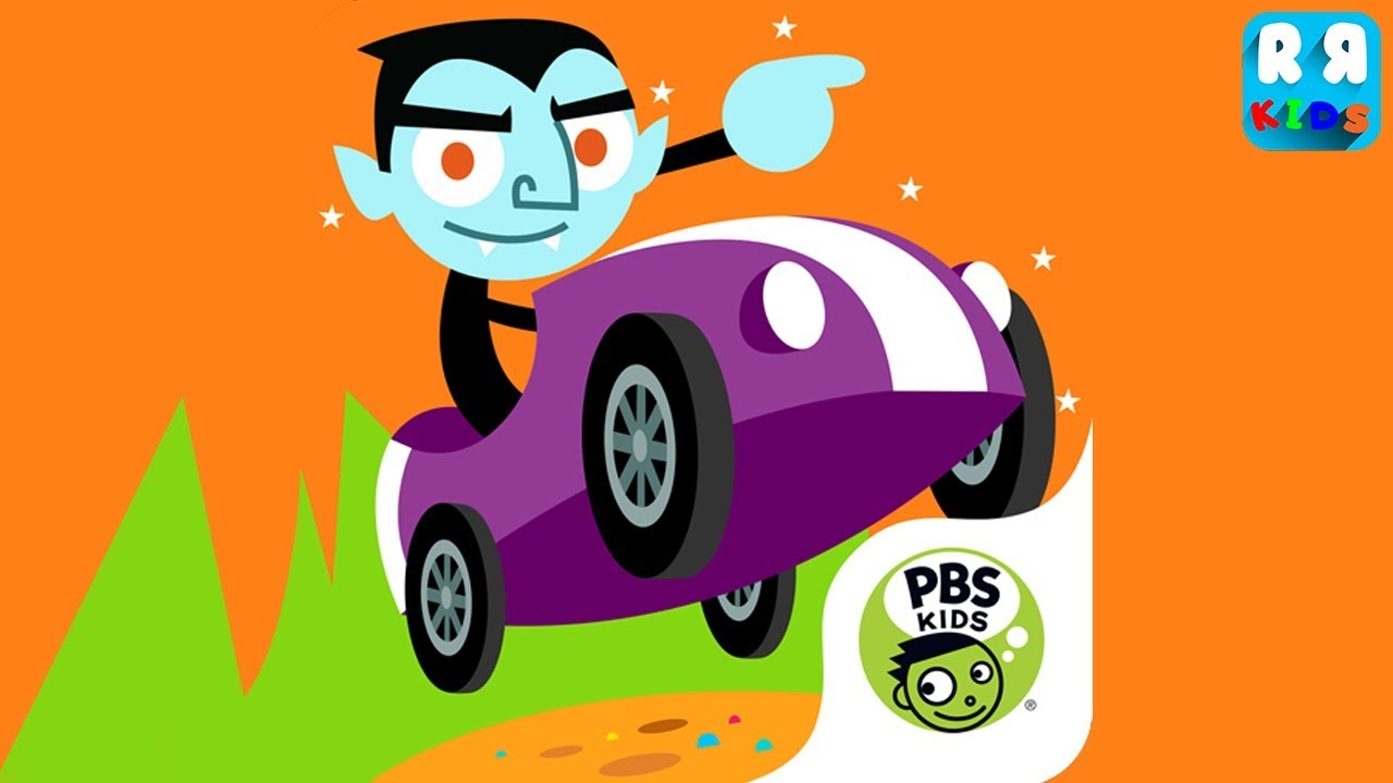 pbs kids kart kingdom - new update halloween unlock mask and more