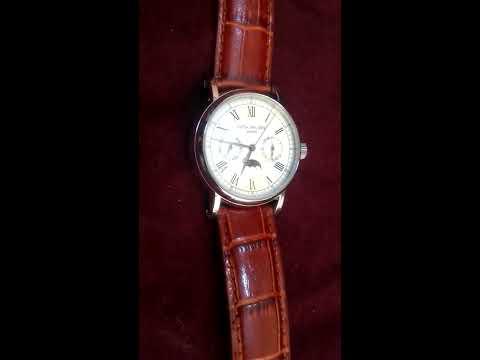 Patek Philippe Watch Geneve Leather