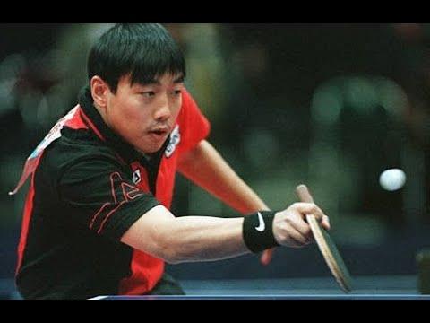 ITTFSmashback FULL MATCH   Liu Guoliang VS Jan-Ove Waldner (1998 World Tour  Grand Finals) - YouTube