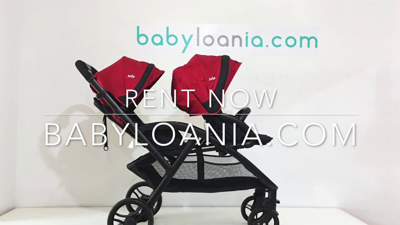 Babyloania Review Joie Evalite Duo Twin Stroller Youtube Cocolatte Isport 9m
