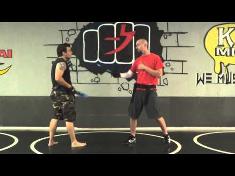 Lvl 1 Knife Tapping Sparring Application- Functionalizing the Art- FCS Kali of SWFL